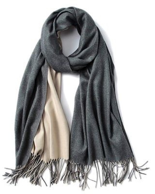 This is an image of a 2 tone scarf for women by FORTREE.