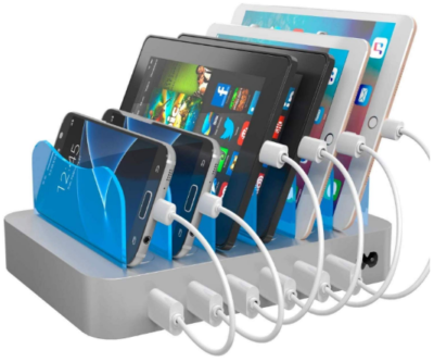 This is an image of boy's fast charging station