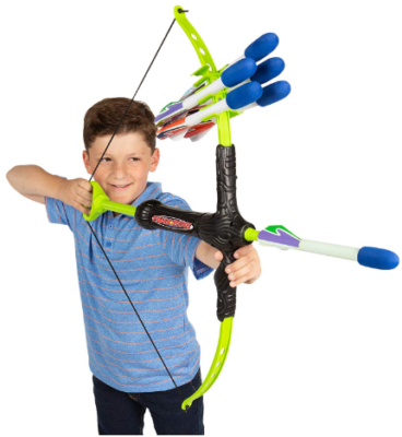This is an image of boy's Faux bow arrow pack in colorful colors