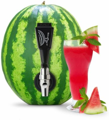 This is an image of a black watermelon keg kit by Final Touch.