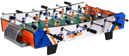 This is an image of boy's soccer table game in colorful colors