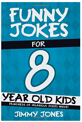 This is an image of kid's book funny jokes