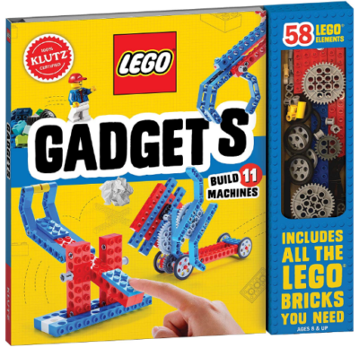 This is an image of kid's gadgets science activity kit in colorful colors