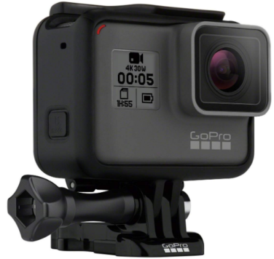 This is an image of boy's Gopro Hero5 action camera in black color
