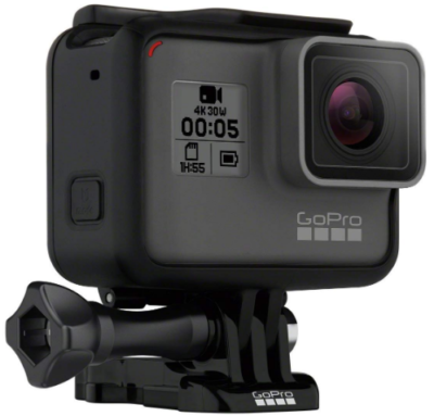 This is an image of boy's Gopro hero in black color