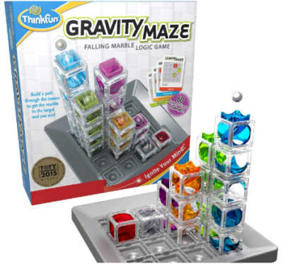 This is an image of girl's logic game gravity maze in colorful colors