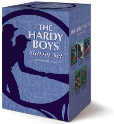 This is an image of boy's The hardy boys start set books