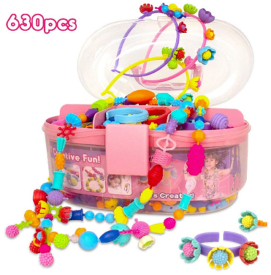 This is an image of girl's jewelry making kit