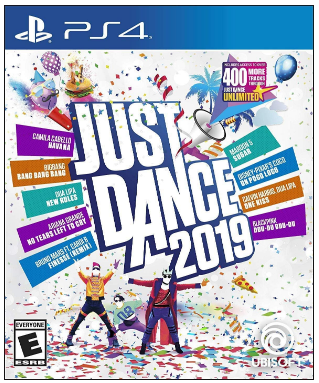 This is an image of girl's just dance playstation 4 game