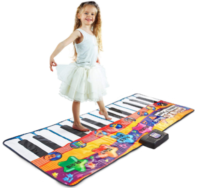 This is an image of kid's keyboard piano mat music