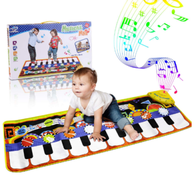 This is an image of boy's musical mat