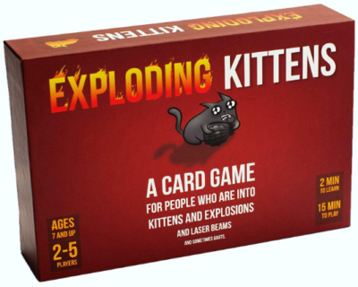 This is an image of kid's kittens card game