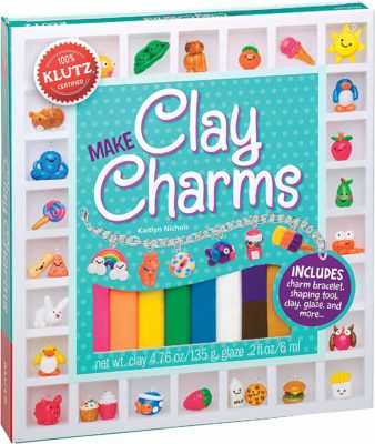This is an image of a clay craft kit for kids by Klutz.