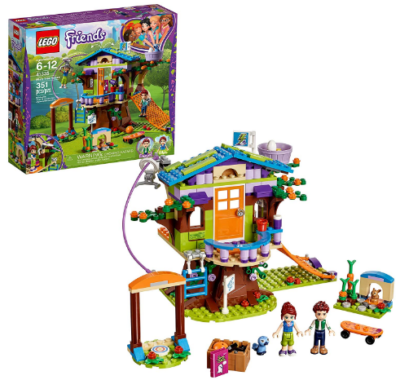 This is an image of girl's LEGO mia's tree house building kit