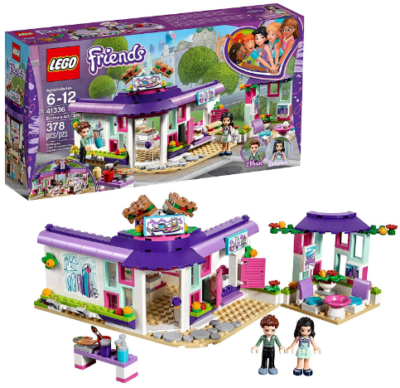 This is an image of girl's LEGO friends building set