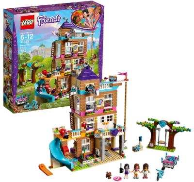 This is an image of girl's LEGO friends friendship house building kit