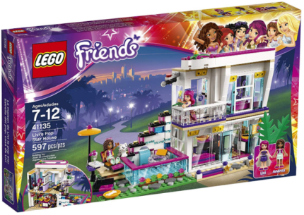 This is an image of girl's LEGO firends star house building kit