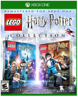 This is an image of kid's LEGO harry potter game for xbox one