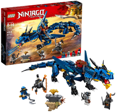This is an image of kid's LEGO ninjago master of spinjitzu building kit