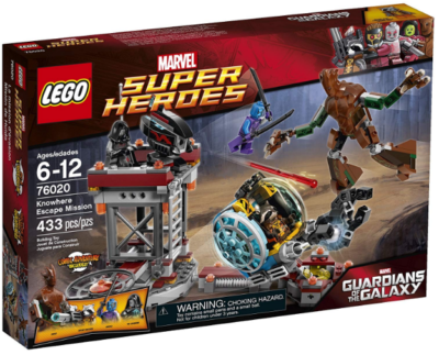 This is an image of kid's LEGO superheroes Escape mission Building kit