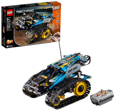 This is an image of LEGO technic stunt racer with remote control building kit