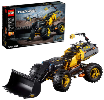 This is an image of LEGO technic volvo concept wheel loader building kit