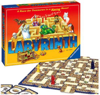 This is an image of kid's board game labyrinth family edition
