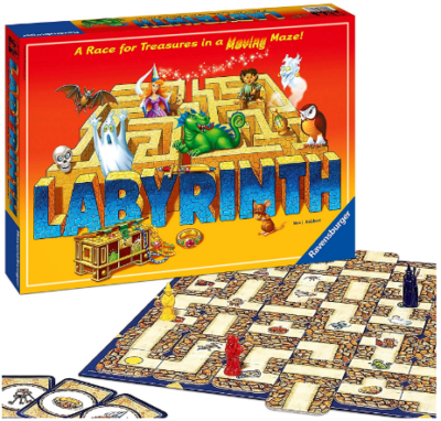 This is an image of boy's Labyrinth family board game