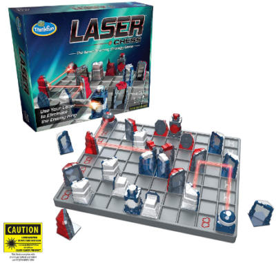 This is an image of girl's Laser chess strategy game in colorful colors