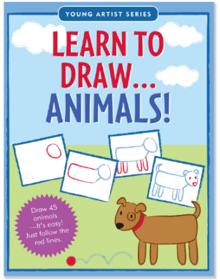 This is an image of kid's book learn to draw