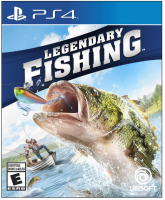 This is an image of kid's legendary fishing game for playstation 4