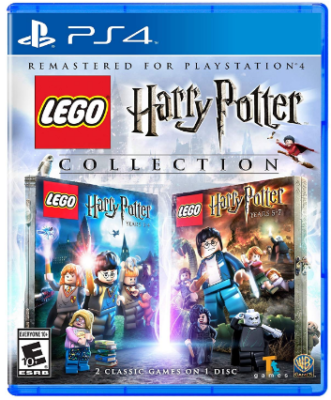 This is an image of kid's lego harry potter game playstation 4