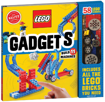 This is an image of girl's LEGO gadgets science activity kit