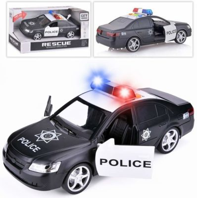 This is an image of a police toy car for kids by Liberty Imports.