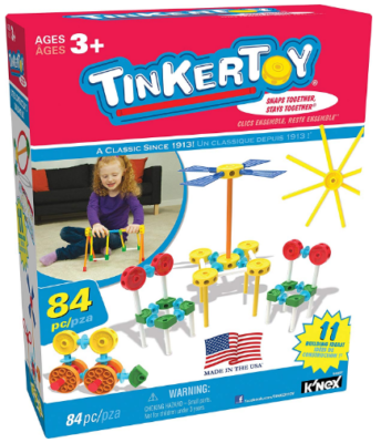 This is an image of kid's thinker Toy 34 pieces construction building set