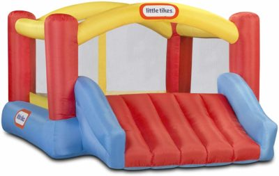 This is an image of a bounce house for kids by Little Tikes.