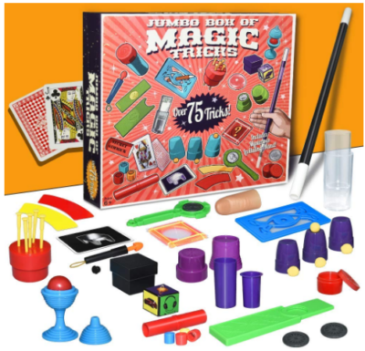 This is an image of boy's magic tricks kit
