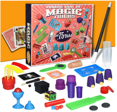 This is an image boy's Magic kit set