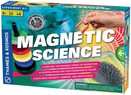This is an image of boy's magnetic science game