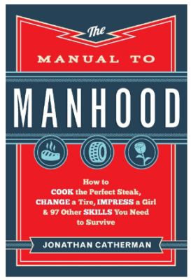 This is an image of boy's book manual to manhood