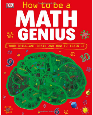 This is an image of boy's math genius book