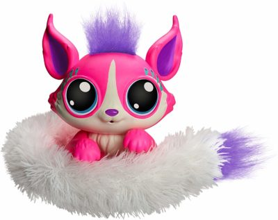 This is an image of a pink little Gleemerz for little girls by Mattel.
