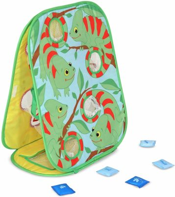 This is an image of a double sided beanbag game for kids by Melissa & Doug.