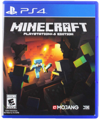 This is an image kid's playstation 4 minecraft Game
