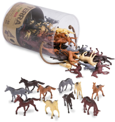 This is an image of kid's miniature horse pack