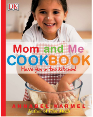 This is an image of girl's book mom and me cook