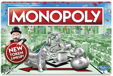 This is an image of boy's monopoly classic game