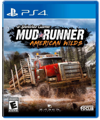 This is an image of kid's mud runner truck game for playstation 4