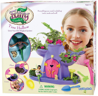 This is an image of kid's Fairy garden toys in colorful colors