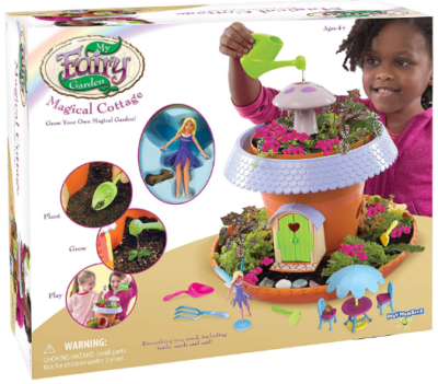 This is an image of girl's Fairy garden toy